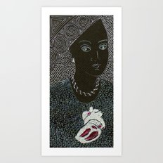 DE CORAZÓN Art Print