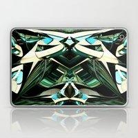 Green Warp Laptop & iPad Skin