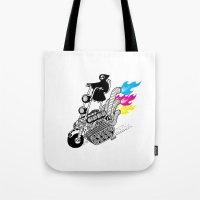 Grim Hellraiser Tote Bag
