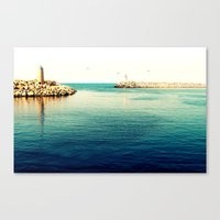 What's left Canvas Print