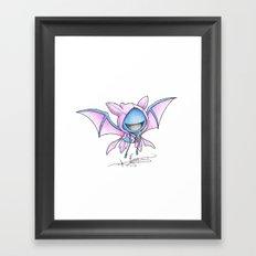 Still A Little Batty Framed Art Print