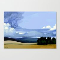 The Front Canvas Print