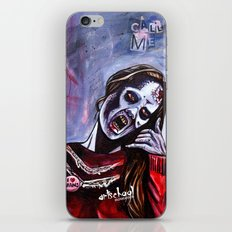 call me iPhone & iPod Skin