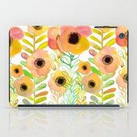 Peony field iPad Case