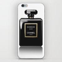 CHANEL Noir iPhone & iPod Skin