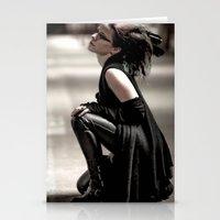 Gothic Ninja Stationery Cards