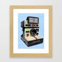 Polaroid. Framed Art Print