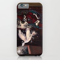 iPhone & iPod Case featuring The Sorcerer and the Simourgh  by Richard J. Bailey
