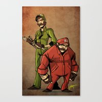 The Original Gangsters Canvas Print