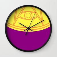 Ozymandias Wall Clock
