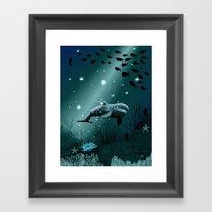 Dolphin Dream  Framed Art Print