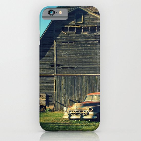 Caddie and Barn iPhone & iPod Case