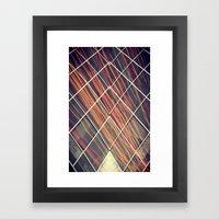 sym4 Framed Art Print