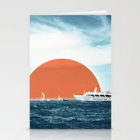 Shipping Sun Stationery Cards