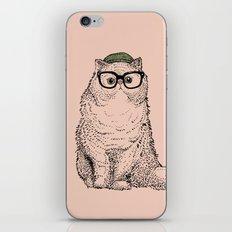 Hipster Persian Cat iPhone & iPod Skin
