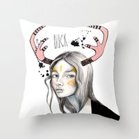 Buck Throw Pillow