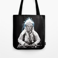 Native American Chief 3 Tote Bag