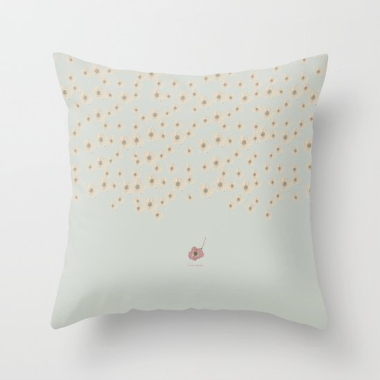 "PRIMAVERA, ""las Tendencias de Ufri"" Throw Pillow"