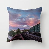 Are We Moving Throw Pillow