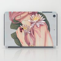 And She Loved Lillies iPad Case