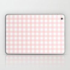 Pantone 2016: Rose Quartz Small Gingham Laptop & iPad Skin