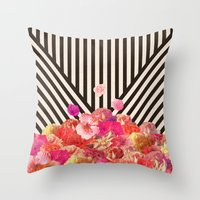 Floraline Throw Pillow