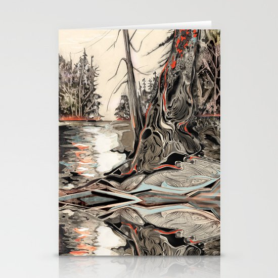 The Flute Stationery Card