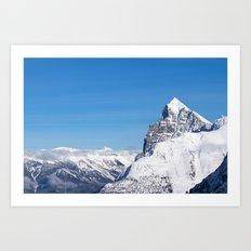 Rocky Mountain - Roger's Pass, BC Art Print