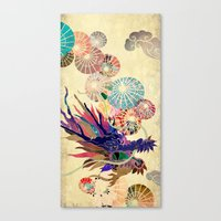 Chinese Lunar New Year and 12 animals  ❤  The DRAGON 龍 Canvas Print