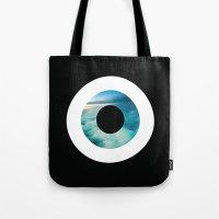 Air Evil Eye Tote Bag