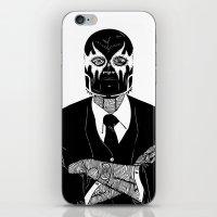 SOLAR SQUAD MAN 2 iPhone & iPod Skin