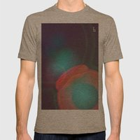 Released Mens Fitted Tee Tri-Coffee SMALL