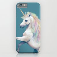 unicorn iPhone & iPod Cases featuring Unicorn by ShannonPosedenti