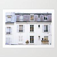 Paris Nº5 Art Print