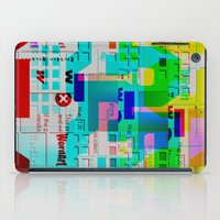 Glitch 002 iPad Case