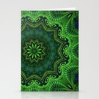 Harmony In Green Stationery Cards