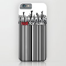 Humans Not For Sale iPhone 6s Slim Case