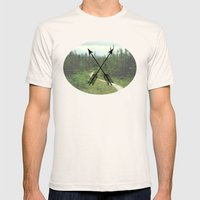 Creative Adventures Mens Fitted Tee Natural SMALL