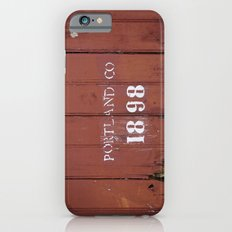 Portland Co. 1898 Slim Case iPhone 6s