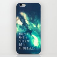 Keep Some Room In Your H… iPhone & iPod Skin