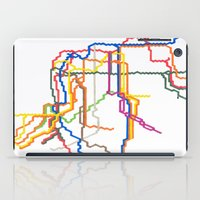 NYC Subway System (Complete) iPad Case