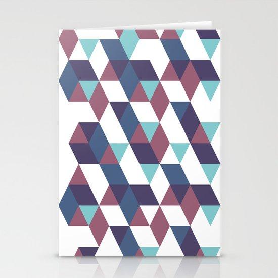 Trangled Stationery Card
