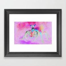 Beetle Queen Framed Art Print