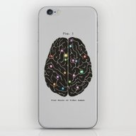 Your Brain On Video Game… iPhone & iPod Skin