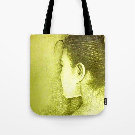 BEHIND Tote Bag