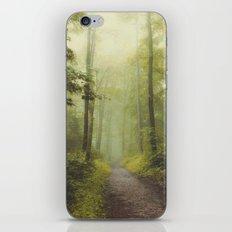 Long Forest Walk iPhone & iPod Skin