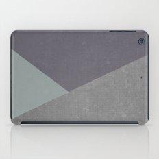 Concrete & Triangles iPad Case