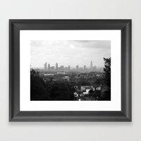 The Big Smoke.  Framed Art Print
