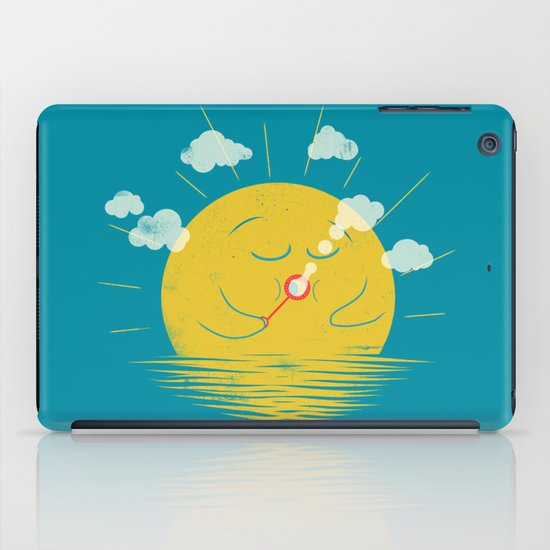 Partly Cloudy iPad Case