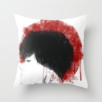 NIPPON Throw Pillow
